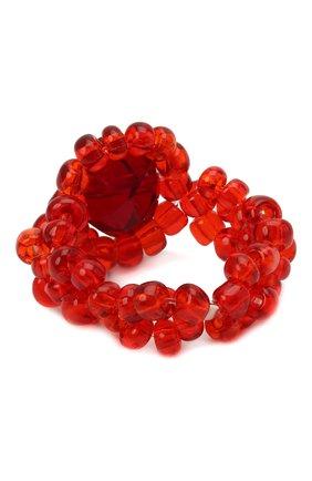 Женское кольцо хэппи нью йер HIAYNDERFYT красного цвета, арт. 1421.1.2 | Фото 2