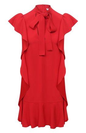 Женское платье REDVALENTINO красного цвета, арт. VR3VAW95/0F1 | Фото 1