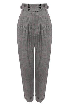 Женские шерстяные брюки DOLCE & GABBANA светло-серого цвета, арт. FTBY8T/FQ2LZ | Фото 1