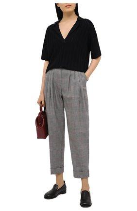 Женские шерстяные брюки DOLCE & GABBANA светло-серого цвета, арт. FTBY8T/FQ2LZ | Фото 2