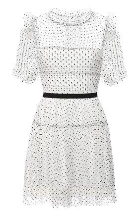 Женское платье SELF-PORTRAIT черно-белого цвета, арт. RS21-043P | Фото 1