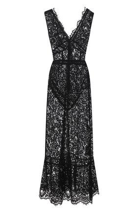 Женское платье SELF-PORTRAIT черного цвета, арт. RS21-035S | Фото 1