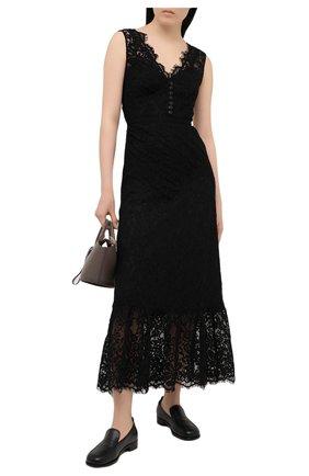 Женское платье SELF-PORTRAIT черного цвета, арт. RS21-035S | Фото 2