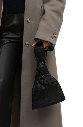 Женская сумка twist mini BOTTEGA VENETA черного цвета, арт. 652001/VCPP0   Фото 2