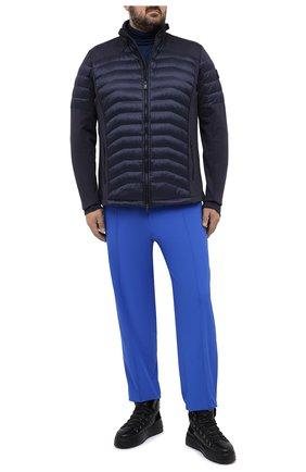 Мужской комбинированная толстовка BOGNER темно-синего цвета, арт. 81435097 | Фото 2
