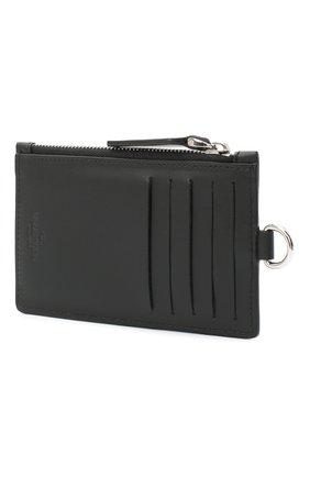 Мужской кожаный футляр для кредитных карт valentino garavani VALENTINO черно-белого цвета, арт. VY2P0R61/JBS | Фото 2
