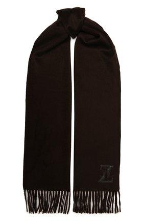 Мужской кашемировый шарф ZILLI коричневого цвета, арт. MIU-INSIG-40825/0001/CP0R | Фото 1