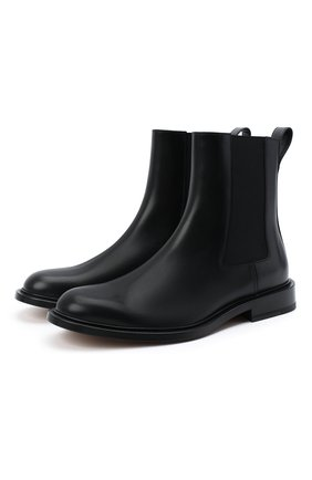 Мужские кожаные челси the level BOTTEGA VENETA черного цвета, арт. 652357/V00H0 | Фото 1