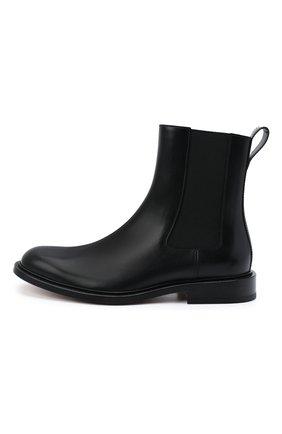 Мужские кожаные челси the level BOTTEGA VENETA черного цвета, арт. 652357/V00H0 | Фото 3 (Материал внутренний: Натуральная кожа; Подошва: Плоская; Мужское Кросс-КТ: Сапоги-обувь, Челси-обувь)