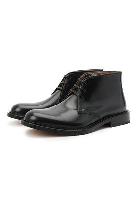 Кожаные ботинки The Level | Фото №1