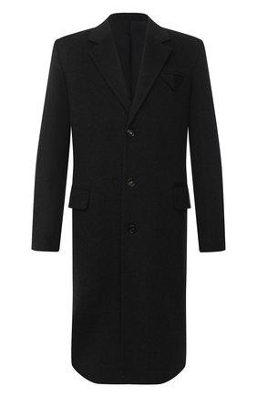 Мужской пальто из шерсти и кашемира BOTTEGA VENETA темно-серого цвета, арт. 650411/VKLU0 | Фото 1
