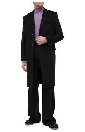 Мужской пальто из шерсти и кашемира BOTTEGA VENETA темно-серого цвета, арт. 650411/VKLU0 | Фото 2