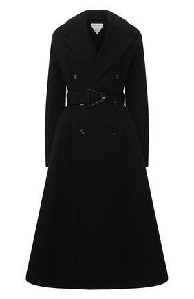 Женский хлопковый тренч BOTTEGA VENETA черного цвета, арт. 646931/V0010 | Фото 1