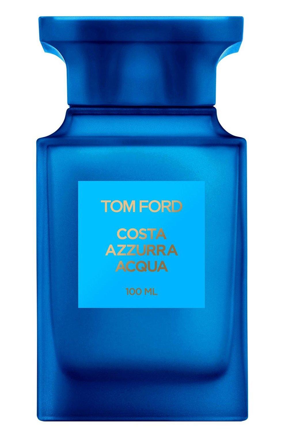 Женский туалетная вода costa azzurra acqua TOM FORD бесцветного цвета, арт. T5K0-01 | Фото 1