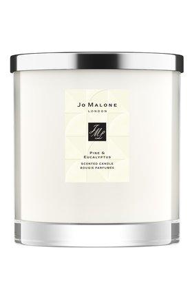 Свеча ароматная pine & eucalyptus JO MALONE LONDON бесцветного цвета, арт. LAW7-01 | Фото 1