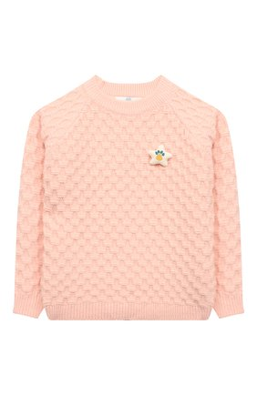 Детский пуловер ZHANNA & ANNA оранжевого цвета, арт. ZAP03112020 | Фото 1