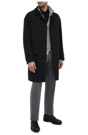 Мужские кожаные дерби ZILLI черного цвета, арт. MDS-A071/007 | Фото 2