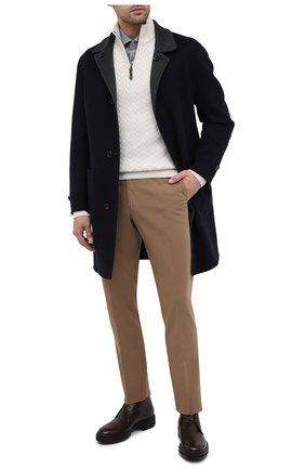 Мужские кожаные ботинки ZILLI коричневого цвета, арт. MDU-A095/003 | Фото 2