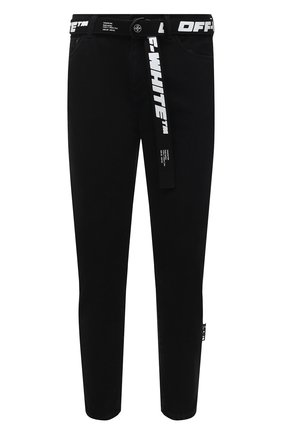 Мужские джинсы OFF-WHITE черного цвета, арт. 0MYA005R21DEN001 | Фото 1