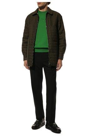 Мужские кожаные кеды rockstud untitled VALENTINO черного цвета, арт. VY2S0931/YEK | Фото 2