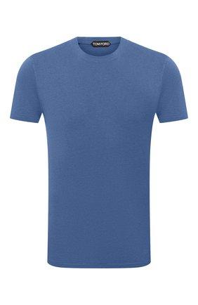 Мужская футболка TOM FORD синего цвета, арт. BW229/TFJ950 | Фото 1