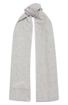 Женский шарф BILANCIONI светло-серого цвета, арт. 4902SM | Фото 1