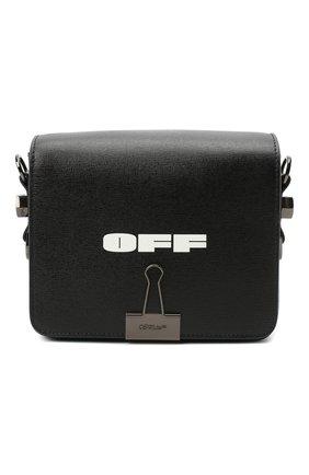 Женская сумка diag mini OFF-WHITE черного цвета, арт. 0WNA011R21LEA003 | Фото 1