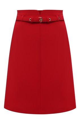 Женская юбка REDVALENTINO красного цвета, арт. VR3RAF75/5LB | Фото 1