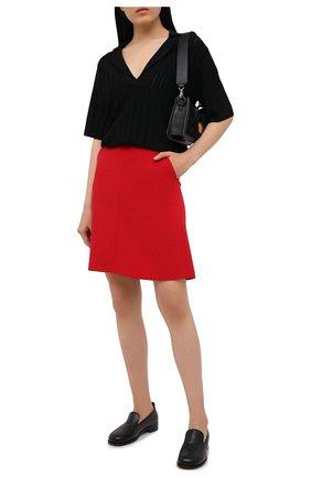 Женская юбка REDVALENTINO красного цвета, арт. VR3RAF75/5LB | Фото 2