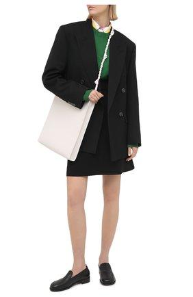 Женская юбка REDVALENTINO черного цвета, арт. VR3RAF75/5LB | Фото 2