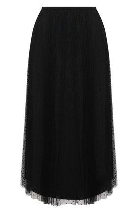 Женская юбка REDVALENTINO черного цвета, арт. VR3RAC20/428 | Фото 1