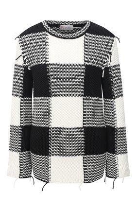 Женский свитер REDVALENTINO черно-белого цвета, арт. VR3KC06H/5NC   Фото 1
