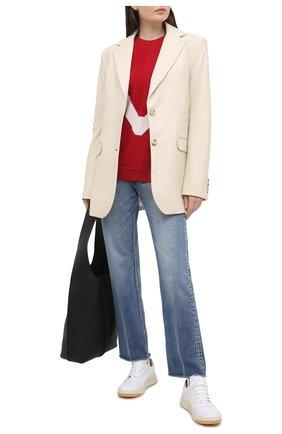 Женский свитер REDVALENTINO красного цвета, арт. VR3KC06D/5NF | Фото 2