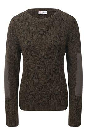 Женский свитер REDVALENTINO хаки цвета, арт. VR3KC05F/5N3 | Фото 1