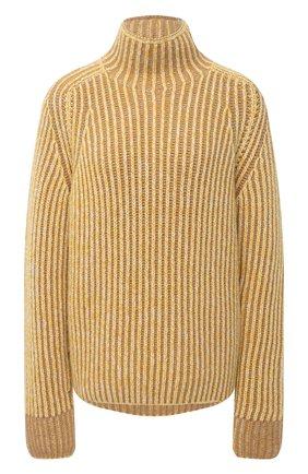 Женский кашемировый свитер LORO PIANA желтого цвета, арт. FAL4054   Фото 1