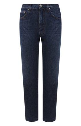 Женские джинсы TOTÊME темно-синего цвета, арт. 0RIGINAL DENIM 34 193-232-742 | Фото 1