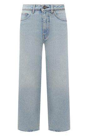 Женские джинсы TOTÊME голубого цвета, арт. 211-230-742 | Фото 1