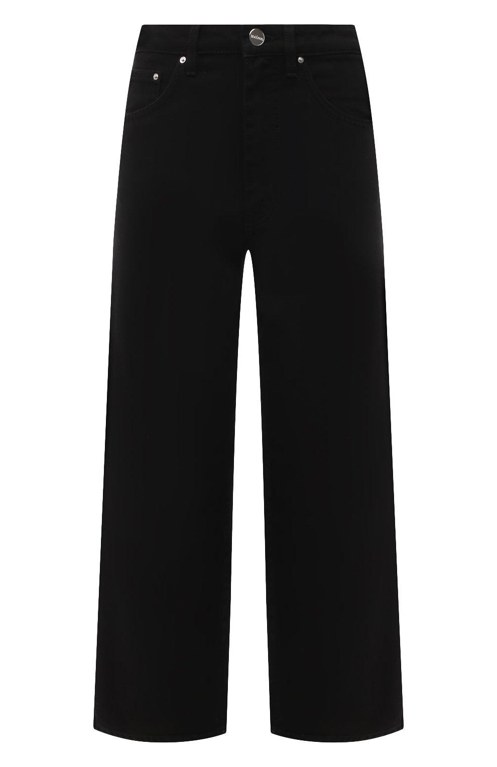 Женские джинсы TOTÊME черного цвета, арт. 211-230-744   Фото 1