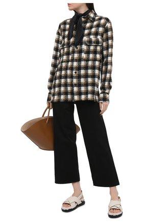Женские джинсы TOTÊME черного цвета, арт. 211-230-744 | Фото 2