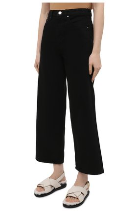 Женские джинсы TOTÊME черного цвета, арт. 211-230-744   Фото 3