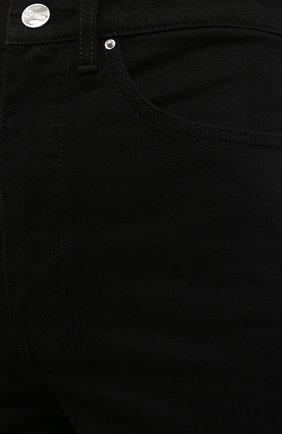 Женские джинсы TOTÊME черного цвета, арт. 211-230-744   Фото 5