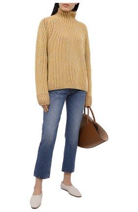 Женские джинсы TOTÊME синего цвета, арт. 211-232-740 | Фото 2
