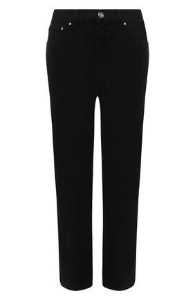 Женские джинсы TOTÊME черного цвета, арт. 211-232-744 | Фото 1