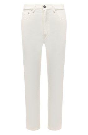 Женские джинсы TOTÊME белого цвета, арт. 211-232-747 | Фото 1