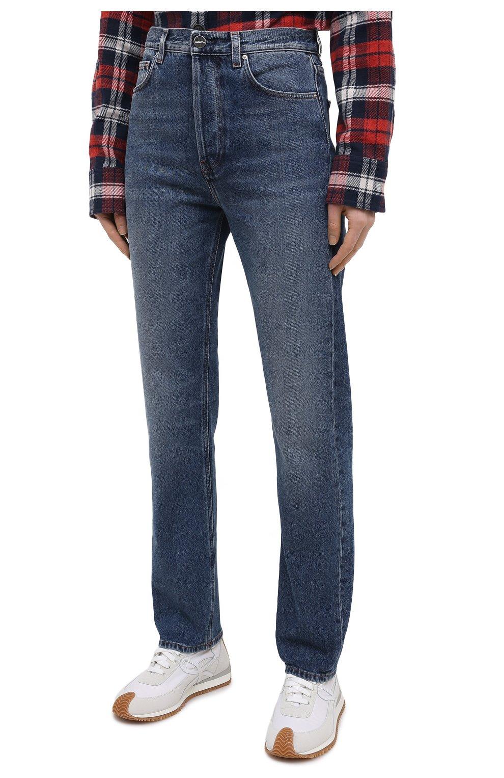 Женские джинсы TOTÊME синего цвета, арт. 211-236-740 | Фото 3