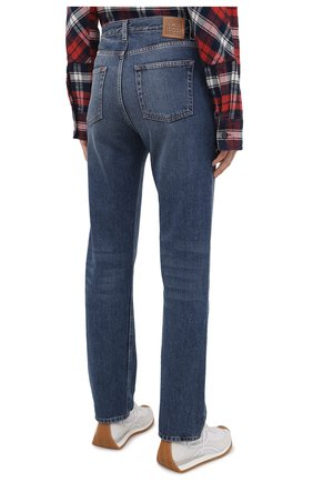 Женские джинсы TOTÊME синего цвета, арт. 211-236-740 | Фото 4