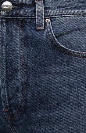 Женские джинсы TOTÊME синего цвета, арт. 211-236-740 | Фото 5
