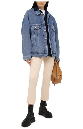 Женская шерстяная рубашка DESTIN синего цвета, арт. D5W0MAT/W0RKER S0LID FLEECY | Фото 2