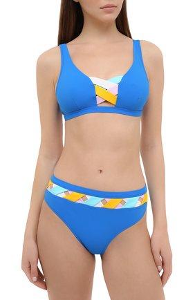 Женский плавки-бикини VALIMARE синего цвета, арт. 202110B/P0RT0FIN0 | Фото 2