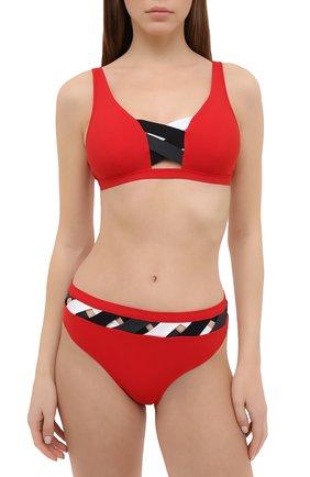 Женский плавки-бикини VALIMARE красного цвета, арт. 202110B/P0RT0FIN0 | Фото 2